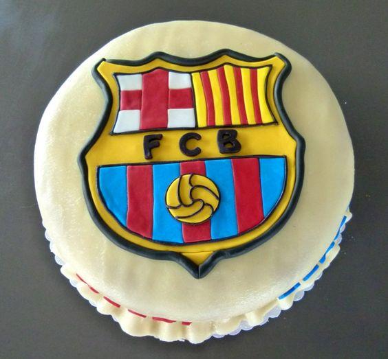 Cake Design Barcelona : FC Barcelona Torte - FC Barcelona cake Meine Torten - My ...