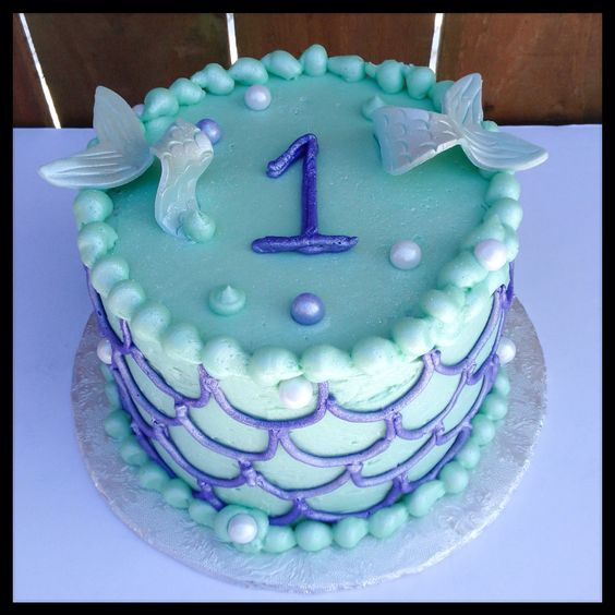 Mermaid Cake Recipe Ideas