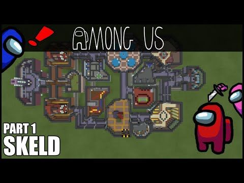 How To Build The Skeld From Among Us In Minecraft Part 1 Youtube Minecraft Minecraft Part 1 Minecraft Creations