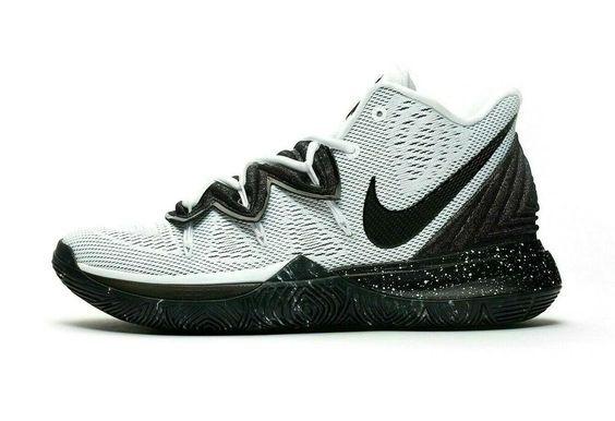 Nike Kyrie 5 Oreo White Black Mens 9 | Basketball shoes ...