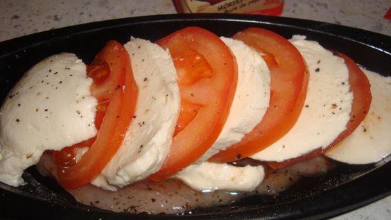 papillotte de poulet tomate/ mozzarella