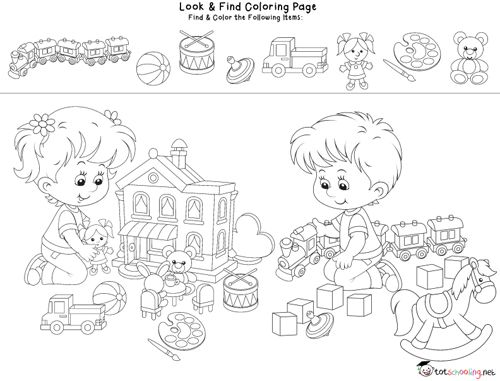 Look Find Coloring Pages Coloring Pages School Coloring Pages Mandala Coloring Pages