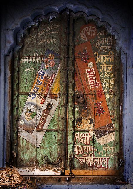 Door in Rajasthan India