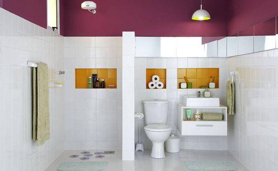 A cor tem espaço geometricamente definido neste projeto de Gustavo Calazans, seja nos recuos retângulares e quadrados na parede, que ganham ...