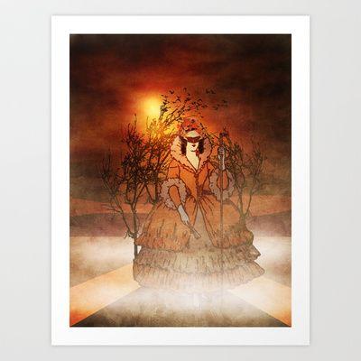 mystery Art Print by Viviana González - $19.00