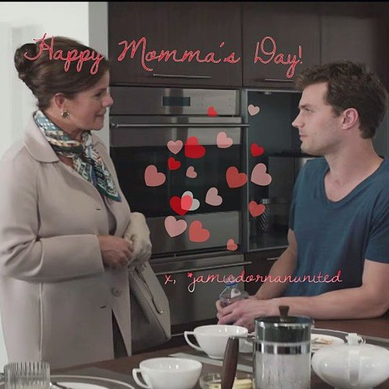 """#HappyMothersDay everyday to all the supermoms of the universe @-}-- . . .  #mom#mommy#mama#mother  #iloveyoumom #mommagrey #fiftyshadesofgrey #love…"""