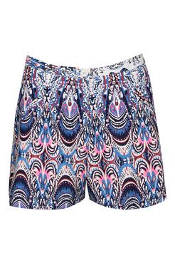 Anna Multicolour Paisley Print Flippy Shorts