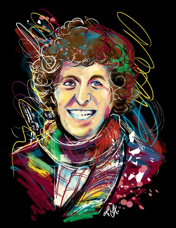 """ladyyatexelart: """" Fourth Doctor - Doctor Who The rest of this series is here! """""""
