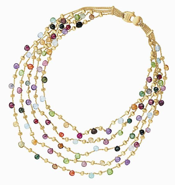 in my dreams...gorgeous Marco Bicego necklace.