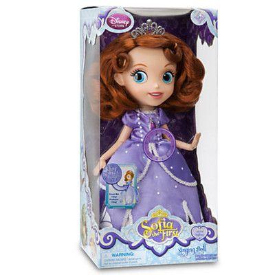 Disney Junior 12 Inch Sofia the First Singing Doll