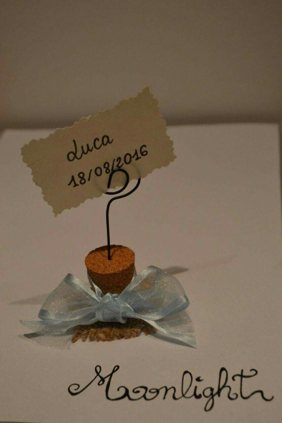 Porta foto #wedding #foto #tappo #sughero #portafoto #bomboniere #segnaposto #matrimonio #battesimo #faidate #moonlight