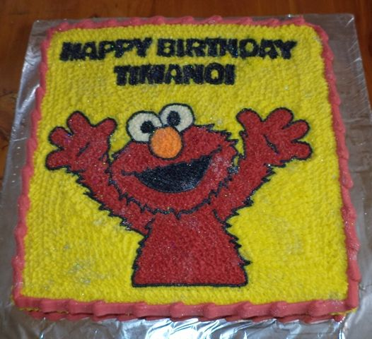 Elmo B-day Cake!