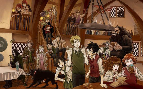 Harry Potter's fan art