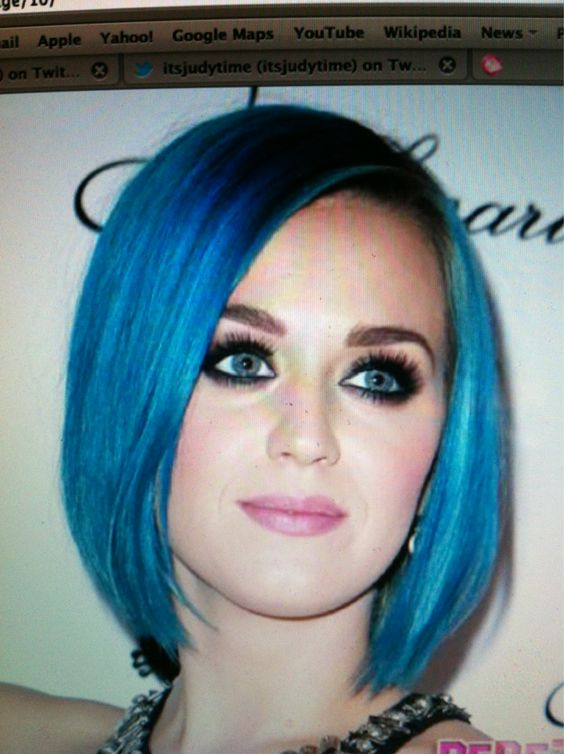 Katy Perry Blue Hair Tumblr | Hair Here! | Pinterest ...