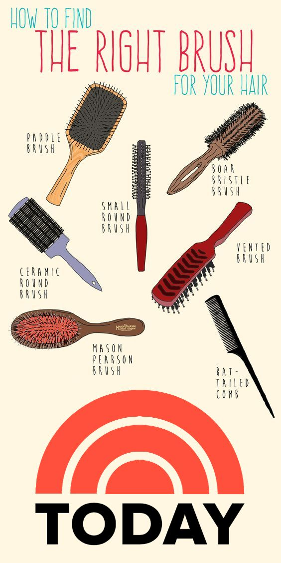 How To Find The Right Brush For Your Hair Type According To Hairstylists Best Hair Brush Types Of Hair Brushes Beauty Tips For Hair