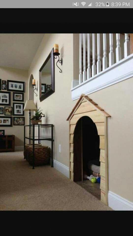 Dog Room Stairs Dogroomstairs Indoor Dog House Dog House