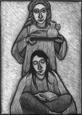 My namesakes: Mary and Martha of Bethany