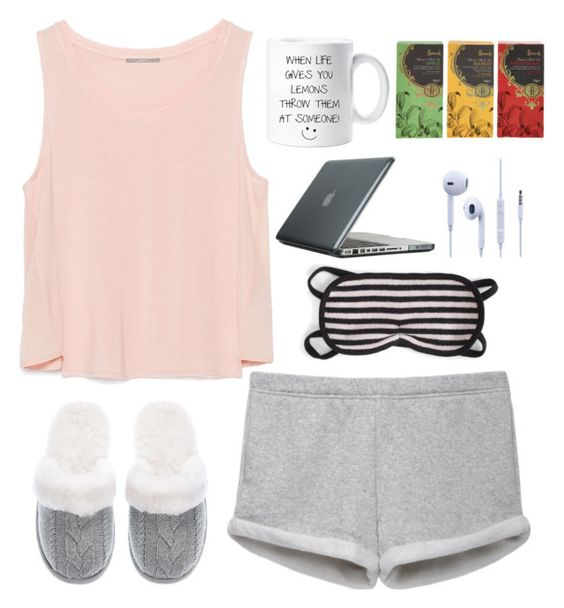 """""""sleep"""" by stinkerbelle2000 ❤ liked on Polyvore featuring Zara, rag & bone/JEAN, Victoria's Secret, Speck, Harrods, women's clothing, women, female, woman and misses"""