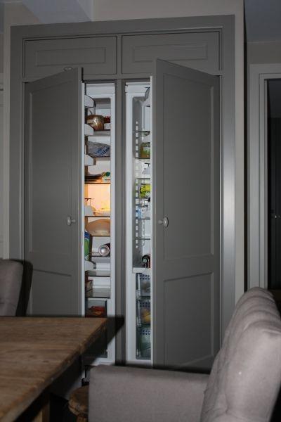 koelkast inbouw (in trapruimte!)   Opberg idee u00ebn   Pinterest   Met
