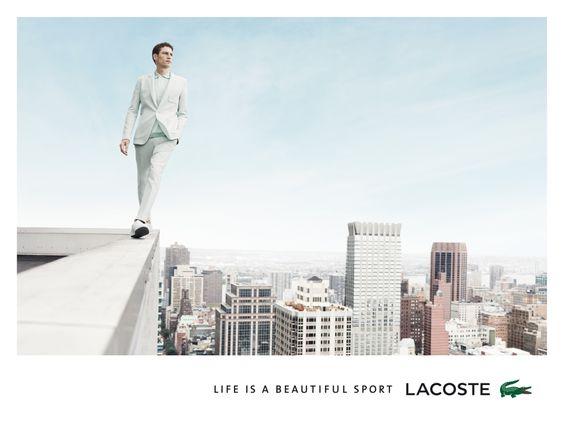 Lacoste's Spring Campaign Is Giving Us Vertigo