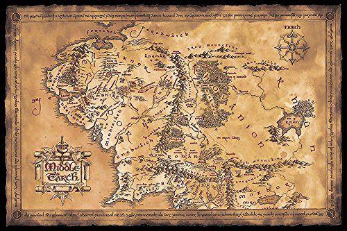Pin Von Ilya Ershov Auf Karty Karte Von Mittelerde Herr Der