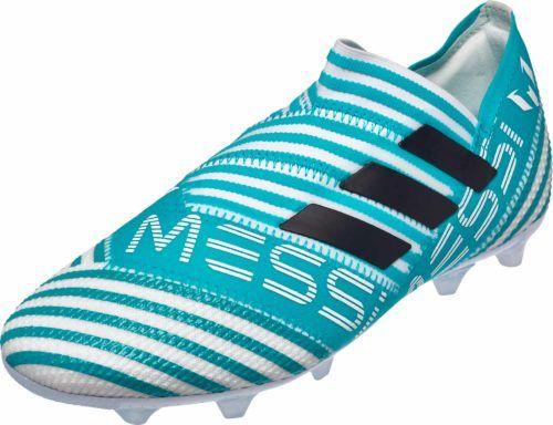 Adidas Kids Nemeziz Messi 17 360agility Fg White Legend Ink Soccer Boots Messi Shoes Football Boots
