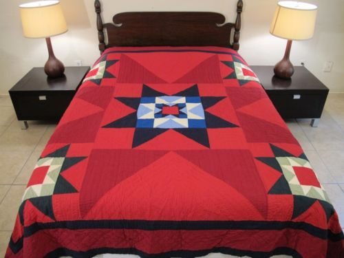 King-Size-PENDLETON-Home-Collection-SIOUX-STAR-Native-American-Inspired-QUILT