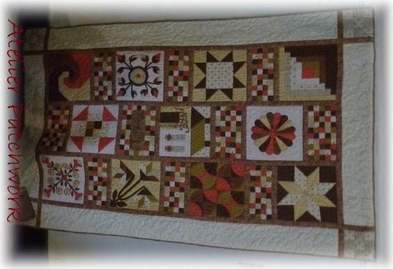 Atelier patchwork -christelle Magnette
