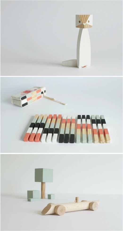 Imaginative wooden toys