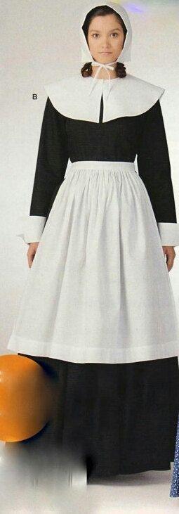 Pilgrim Costume by HouseOfZuehl on Etsy