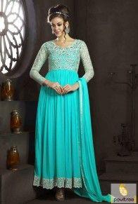 Ice Blue Santoon Gown Style Salwar Suit  #icebluecolordress, #anarkalisalwarsuits, #anarkalidress, #georgettedress, #churidardress, #bridaldress,#bridalsalwarsuis, #longdress, #lehengastyle, #anarkalilehenga, #weddingbridalcholi, #longfloorsalwarsuits, #embroiderydress, #embroiderysalwarsuits, #newfashion, #eiddress, #pakistanidress, #eidsalwarsuits, #longfloordress, #bollywooddress, #designerdress   http://www.pavitraa.in/ Contact Us : +91-7698234040 (WhatsApp) Email _Id : info@pavitraa.in