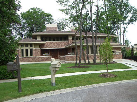 Prairie Style House In Naperville Illinois Prairie