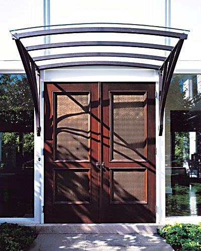 Bronze And Glass Canopy