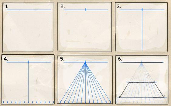 perspektive zeichnen leicht gemacht 1 online tutorial zeichnen pinterest anleitungen. Black Bedroom Furniture Sets. Home Design Ideas