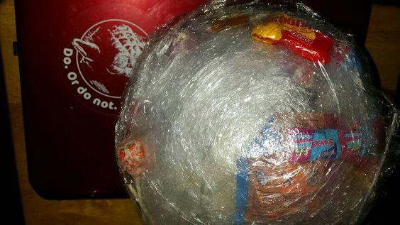 Saran Wrap Candy