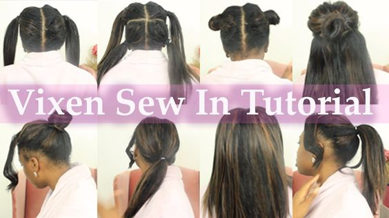 The BEST EVER Vixen Weave Installation with Sassy Mitchell Hair ...
