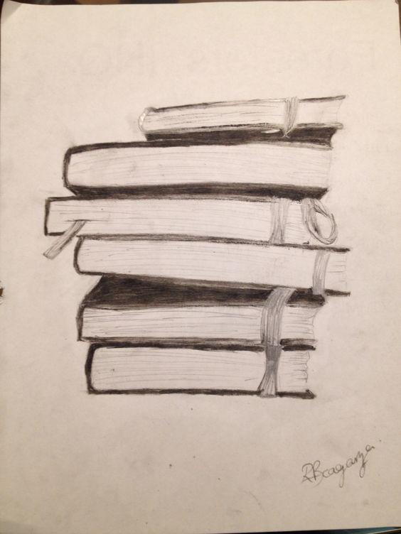 Bücherstapel gezeichnet  Bildergebnis für bücher gezeichnet | disegni | Pinterest