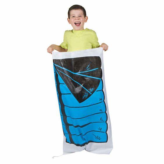 sleeping bag races