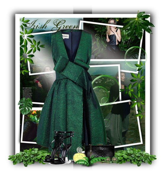"""""""Irish Green"""" by maca1974 ❤ liked on Polyvore"""