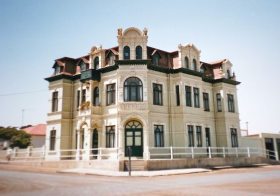 Travel Namibia Swakopmund with German colonial architecture
