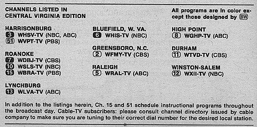 Pin On Tv Guide Classic Channel Listings