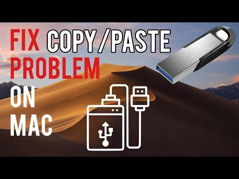 How To Fix Problem With Copy Paste Files Onto Usb Flash Drive On Mac Usb Flash Drive Flash Drive Usb