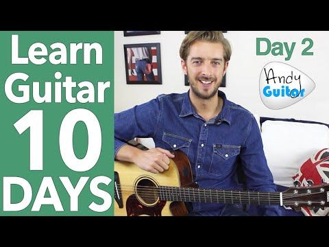 Guitar Lesson 2 Easy 2 Chord Song Lead Guitar 10 Day Guitar Starter Course Youtube Guitar Lessons Guitar Learn Guitar Chords