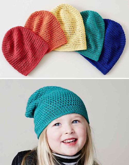 Outstanding Childrens Crochet Hats Free Patterns Vignette Sewing