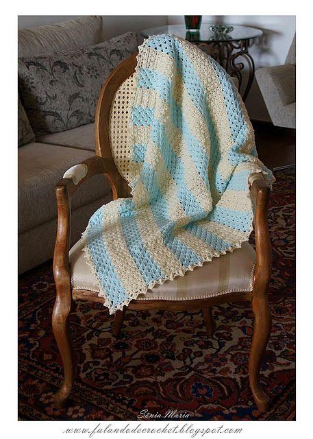 moc pěkný vzor na deku
