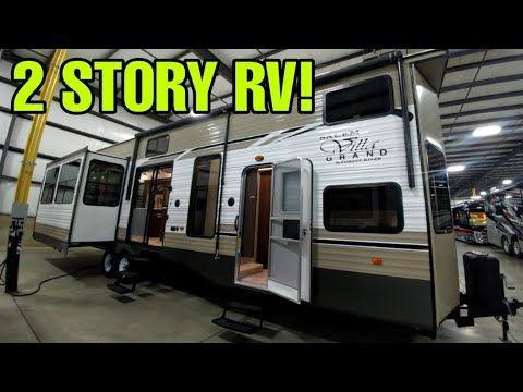 2 Story Travel Trailer Rv This Thing Is Amazing Salem Destination Trailer Youtube Travel Trailer Rv Rv Trailers