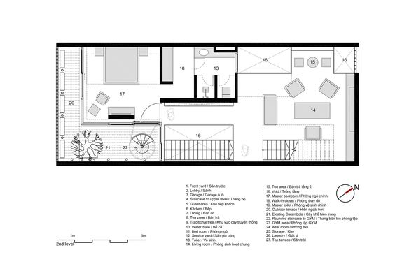 planos de casas 7x18