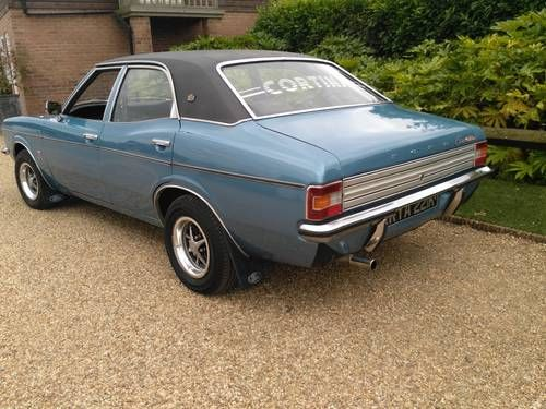 Ford Cortina Mk3 2000 Gxl Mot May 2018 Drives Great 1972