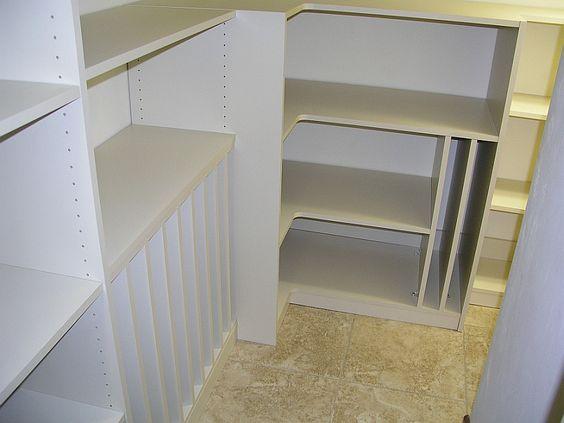 Walk In Pantry Organizer | other galleries walk in reach in pantry garage home office ...
