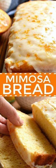 Glazed Mimosa Bread